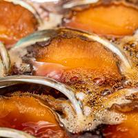 浜の湯名物「鮑の酒蒸し焼き」/「鮑の板前煮」 #食べるお宿浜の湯