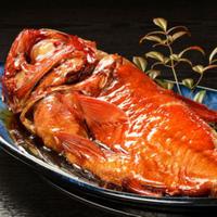 浜の湯名物「金目鯛姿煮」(超特大1匹:内容量約850g以上)#食べるお宿浜の湯