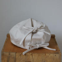 (ORDER)WRAP BERET OFF WHITE