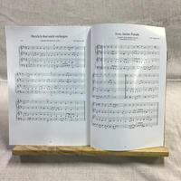竪琴用卓上譜面台