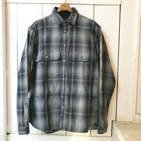 meanswhile Flannel Check Shirt Jacket