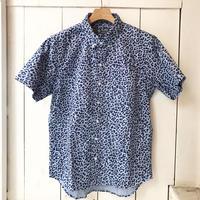 FLASHPACKER  ガーメントダイS/Sシャツ BLUE