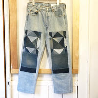 Children of the discordance   OLD PATCH DENIM         SIZE 2