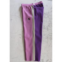 AlexanderLeeChang LINE KNIT PANTS PURPLE