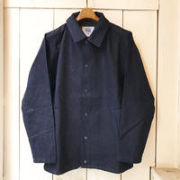 shirohakaman  COTTON LINEN DENIM COACH JACKET