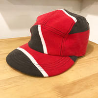 is-ness  別注PATCHWORK JET CAP  assort(RED/BLK/WHT)