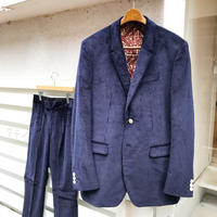Y.O.N.    BRISBANE MOSS TWOPIECE SUITS / NAVY