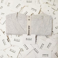 【Anti-weathers】    Anti-mosquito Tee    Vネック oatmeal