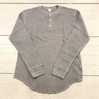 mocT   HENLY NECK WAFFLE PULLOVER