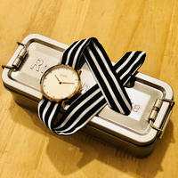 Rich Gone Broke (PinkGold diamond Case - BK Stripe Liberty Strap)