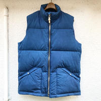 SHIROHAKAMAN ANTARCTIC DOWN VEST 本藍染