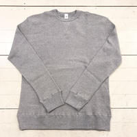mocT  LONG SLEEVE WAFFLE PULLOVER