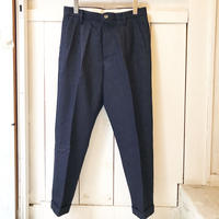 shirohakaman  COTTON LINEN DENIM TROUSER