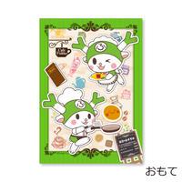 ふっかちゃん カフェ(I LOVE FUKKA-CHAN クリアファイル)