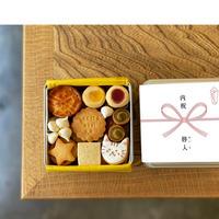 8/3-4日発送分【名入れ&ラッピング代込クッキー缶】内祝い