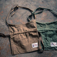 TCB40's RED CROSS APRON BAG KHAKI