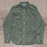 Catlight Shirts  Covert  Green Chambray   5.2oz