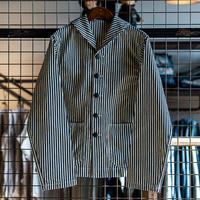 SEAMENS Jumpers / USN デッキJKT HICKORY STRIPE