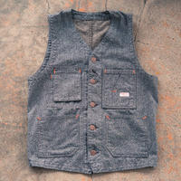 TCB TABBYS VEST  Covert Brown