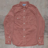 Catlight Shirts  Covert  Red Chambray   5.2oz