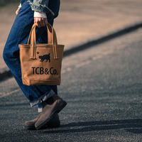XX DEVELOPMENT and TCB JEANS COAL BAG  Size S  CAMEL