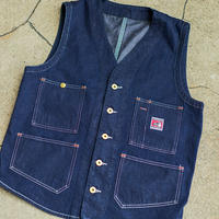 Foreman Vest   10OZ Denim