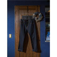 DDK 12oz Selvedge Denim/ 2-way stretch Black