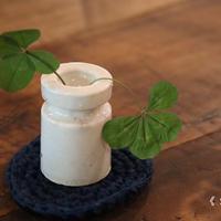 陶製のノップ碍子(5個セット)001/Ceramic Insulator Total (5 Piece Set)