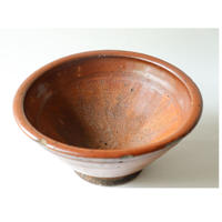 赤土色の摺り鉢(小)/ Japanese Mortar and Pestle (Small)