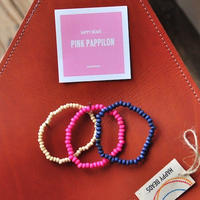 ★ HAPPY BEADS (SWEDEN) / WOOD BEADS  BRACELET (PAPPILON 3本set) ★