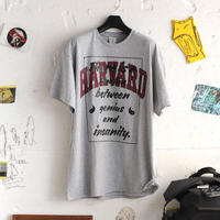 ☆ SUPER Daily / GENIUS & INSANITY HARVARD T SHIRT (ONE SIZE FREE) ☆