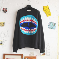 ★ HENRIK VIBSKOV / PROTEETH SWEAT (BLACK / S) ★