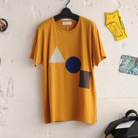 ★ CORRELL CORRELL (コレルコレル) / APPLI T SHIRTS  (GOLD/SIZE / L) ★