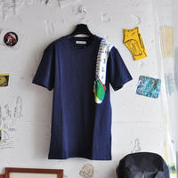 ★ 18AW NEW ! / HENRIK VIBSKOV - SHOULDER TAPE TEE (D.NAVY) ★