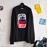 ★ 20SS NEW ! / HENRIK VIBSKOV - SARDINES SWEAT (BLACK) ★