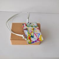 ★ MACROMAURO (マクロマウロ) / paint pass case (HI MULTI) ★