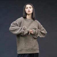 ★ AW20 / my beautiful landlet - sheep pile sweatshirt (2COLOR) ★
