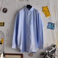 ☆ AW20 / WILLY CHAVARRIA  /  BIG OXFORD SHIRT  (LIGHT BLUE) ☆