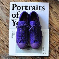 ☆  NEW ! / STUDIO NICHOLSON  /  Merino Vulcanised Sole Canvas Shoe (Ultra Violet) ☆