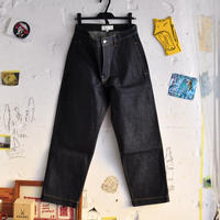 ☆  20SS / STUDIO NICHOLSON  /  BILL SELVEDGE DENIM CLASSIC FLAT FRONT TAPERED DENIM  (INDIGO) ☆