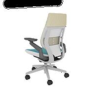 Gesture(ジェスチャー)- Lagoon, 3Dknit Mat, Platinum Base & Frame