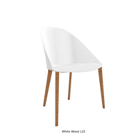 【新発売】Arper/ Cila(木製脚ベース):5種類