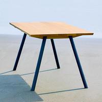 CALM TABLE オーク  ×  オイル塗装 W160