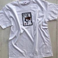 ビーグルイラストTシャツ:Lady Buffy