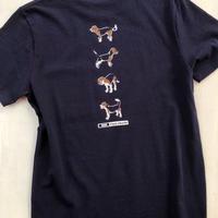 ポケットTシャツ:ビーグルズイラスト