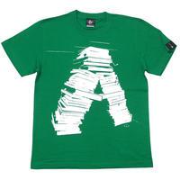 sp072tee-gr - anonymity Tシャツ (グリーン) -G- 半袖 緑色 Book 本 小説 アメカジ カジュアル ユニセックス