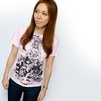 bg009tee - 天秤座ガール( Libra Girl )Tシャツ -G- てんびん座 星座 かわいい カジュアル プリント メンズ レディース 半袖 大きいサイズ