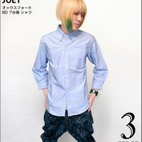ut-4996 - オックスフォード BD 7分袖 シャツ - JOEY ジョーイ -G- カジュアル OXシャツ ボタンダウン アメカジ