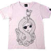 nr001tee - BEAST QUEEN(ビーストクィーン)Tシャツ -G-( バンビ 子鹿 BAMBI アニマル 王女 )