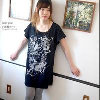 予約販売中! bg007opt - 小悪魔ガール Tシャツワンピース -G- ワンピTシャツ 半袖 イラスト オリジナル プリント かわいい ファッション
